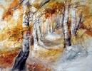 Waldallee im Herbst